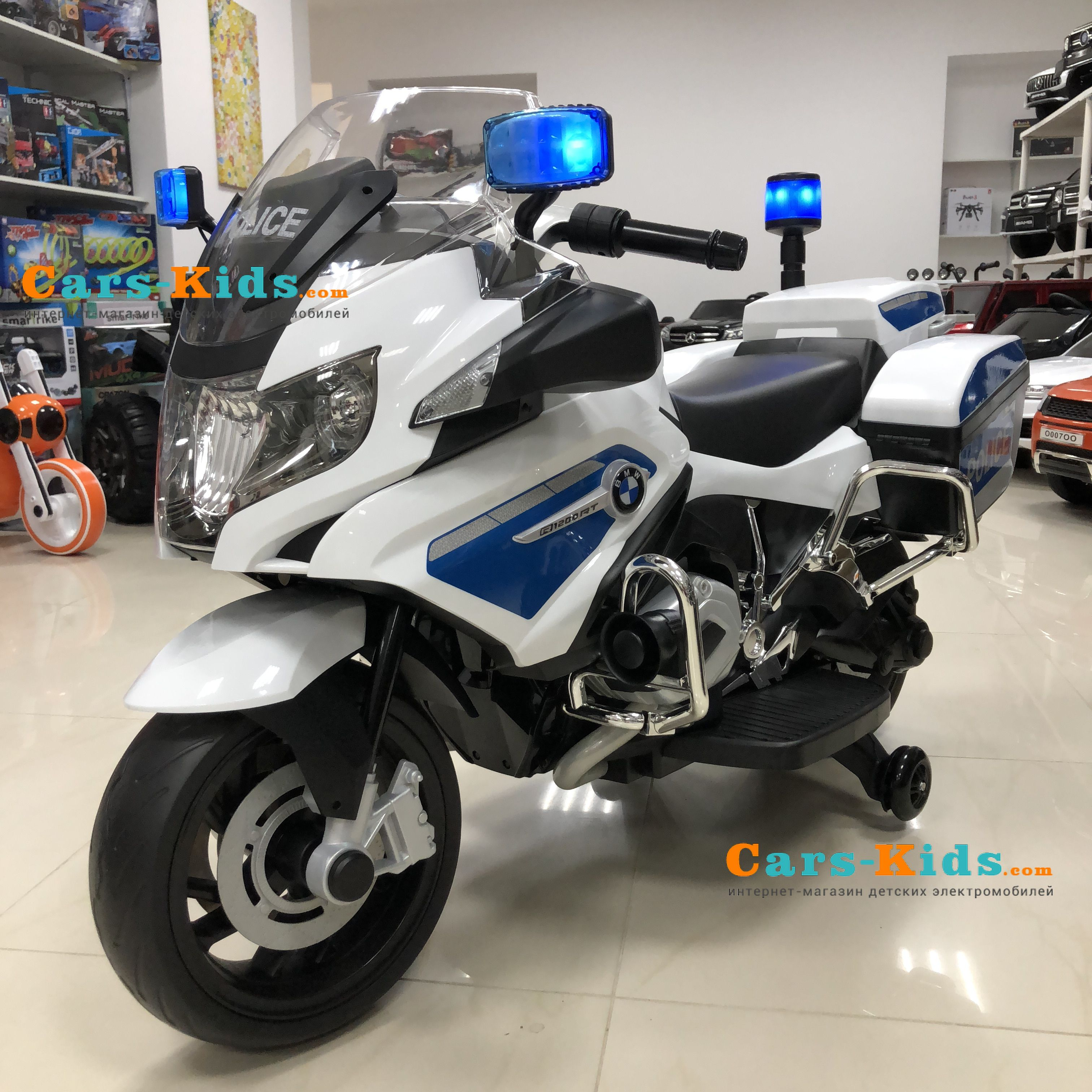 Elektromotocikl Bmw R1200rt Police 12v 212 Kupit V Nalchike