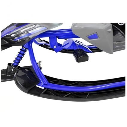 Снегокат Yamaha, лицензионный синий (свет фар, мягкое кресло, тормоз, трос, удобные ручки) (Копировать)