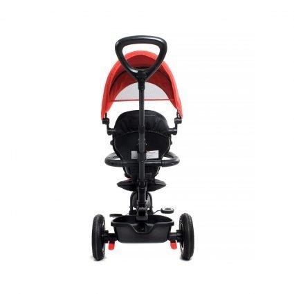 Трехколесный складной велосипед Q Play красный (трансформер)