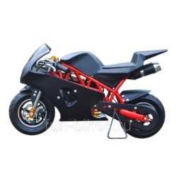 Минимото MOTAX 50 сс в стиле Ducati черный (бензиновый, до 90 кг, до 45 км/ч, вариатор, томоза дисковые мех, ручной стартер)