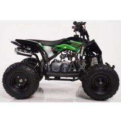 Детский квадроцикл бензиновый Motax GEKKON 70cc Черно- зеленый (пульт контроля, до 45 км/ч)