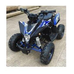 Детский квадроцикл бензиновый Motax GEKKON 70cc Черно- синий (пульт контроля, до 45 км/ч)