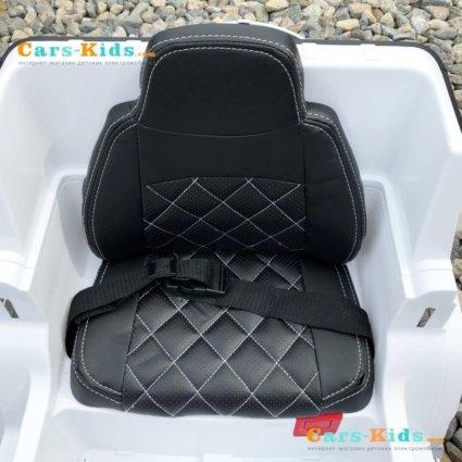 Электромобиль Mercedes Benz G63 BBH-0002 белый (колеса резина, кресло кожа, пульт, музыка)