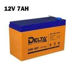 Аккумулятор 12V 7AH DELTA DTM